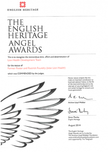 English Heritage Angel Awards - Lion Health