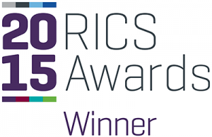 RICS 2015 awards logo winner
